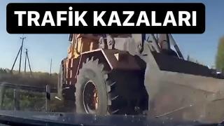 Rusya'dan Akılalmaz Trafik Kazaları !